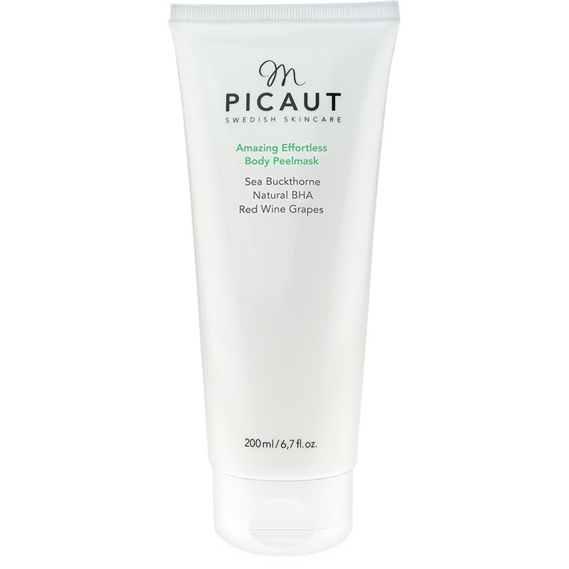 M Picaut Swedish Skincare Amazing Effortless Body Peel Mask