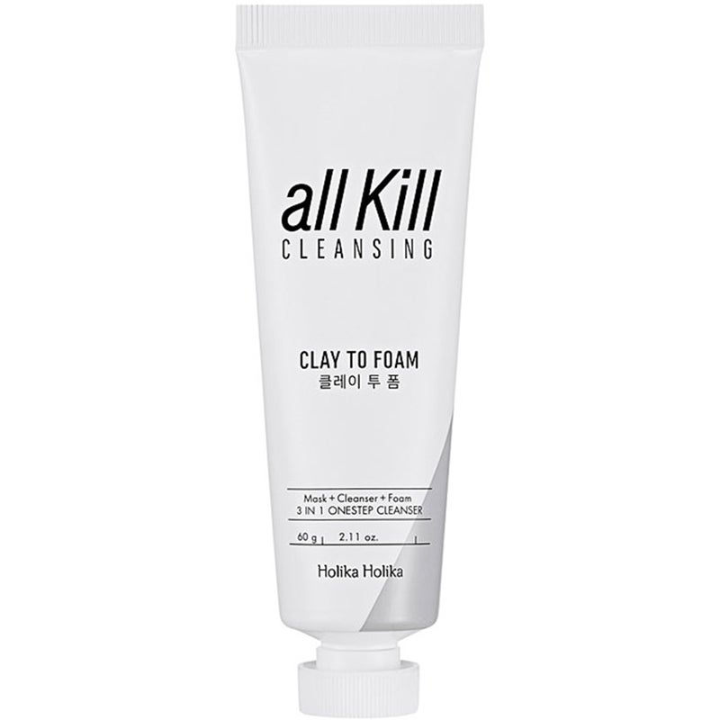 All Kill Cleansing Clay To Foam