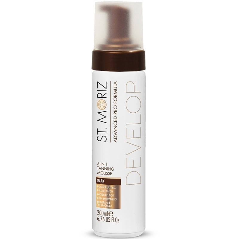 St Moriz Advanced Pro 5in1 Tanning Mousse Dark