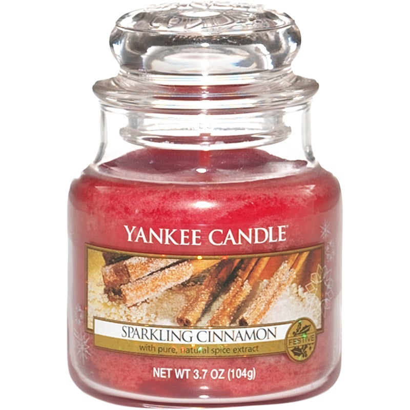 Yankee Candle Classic Sparkling Cinnamon