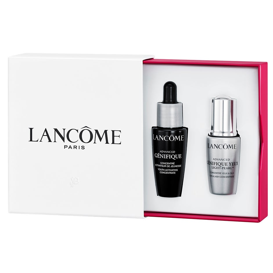 Genefique Light Pearl And Serum Set Gift