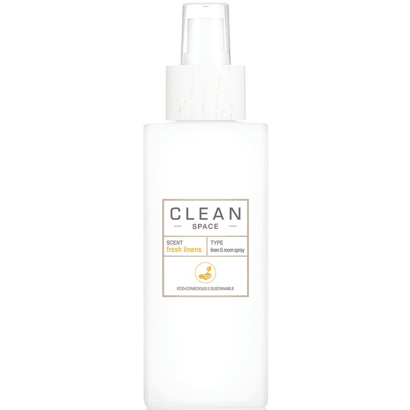 Clean Space Fresh Linens Room Spray