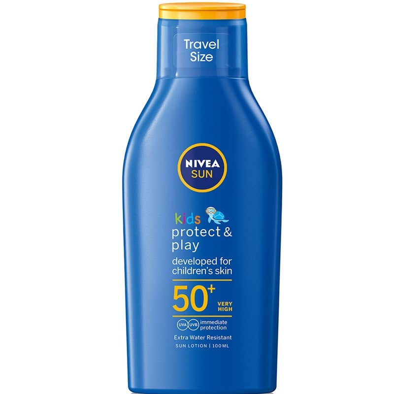 Nivea Kids Protect & Moisture Travel Size SPF50+