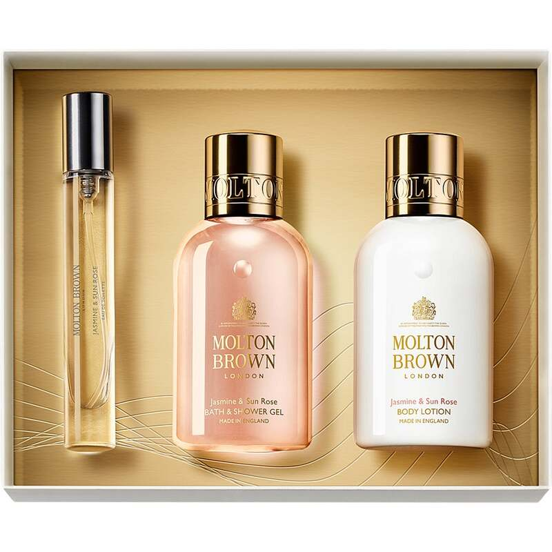 Molton Brown Jasmine & Sun Rose Fragrance Collection