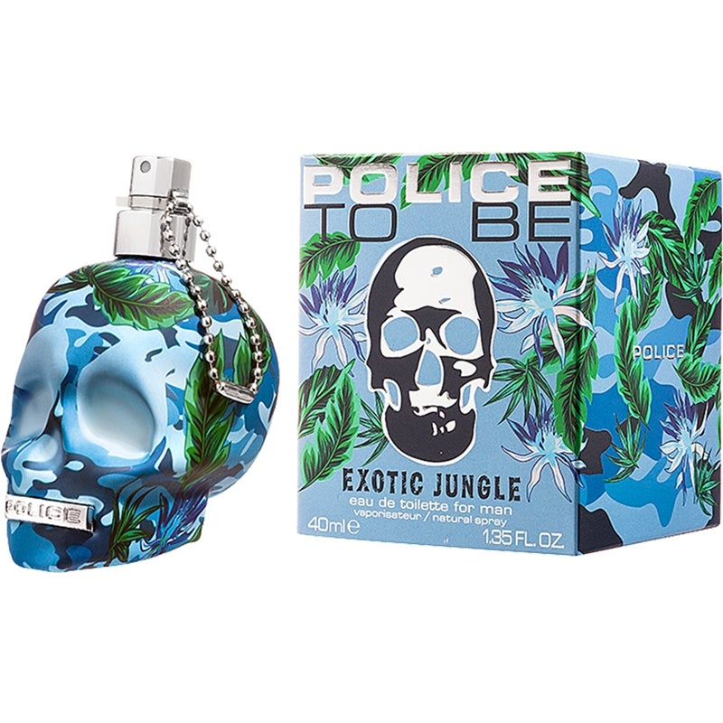 Police To Be Exotic Jungle Man