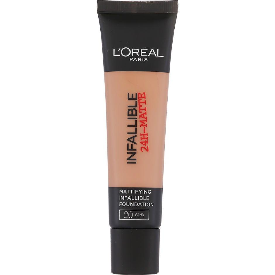 L'Oreal Paris Infallible Matte 24h Foundation, Sand 35 ml L'Oréal Paris Meikkivoiteet