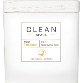 Clean Space Fresh Linens Candle