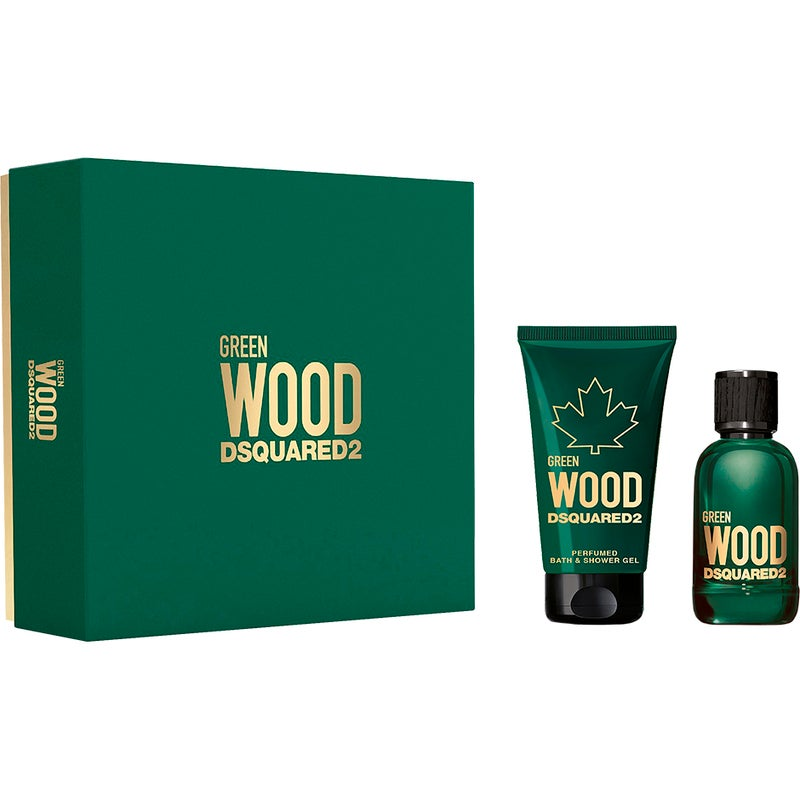 Dsquared2 Green Wood Pour Homme Gift Set