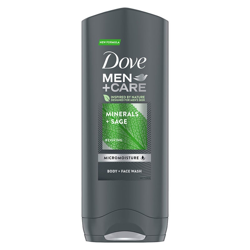 Dove Men+Care Mineral & Sage Shower Gel