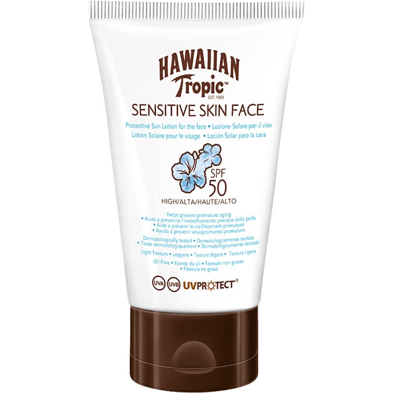 Hawaiian Tropic Sensitive Face Protective Lotion