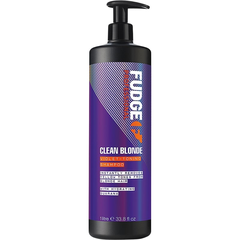 Clean Blonde Violet Toning Shampoo