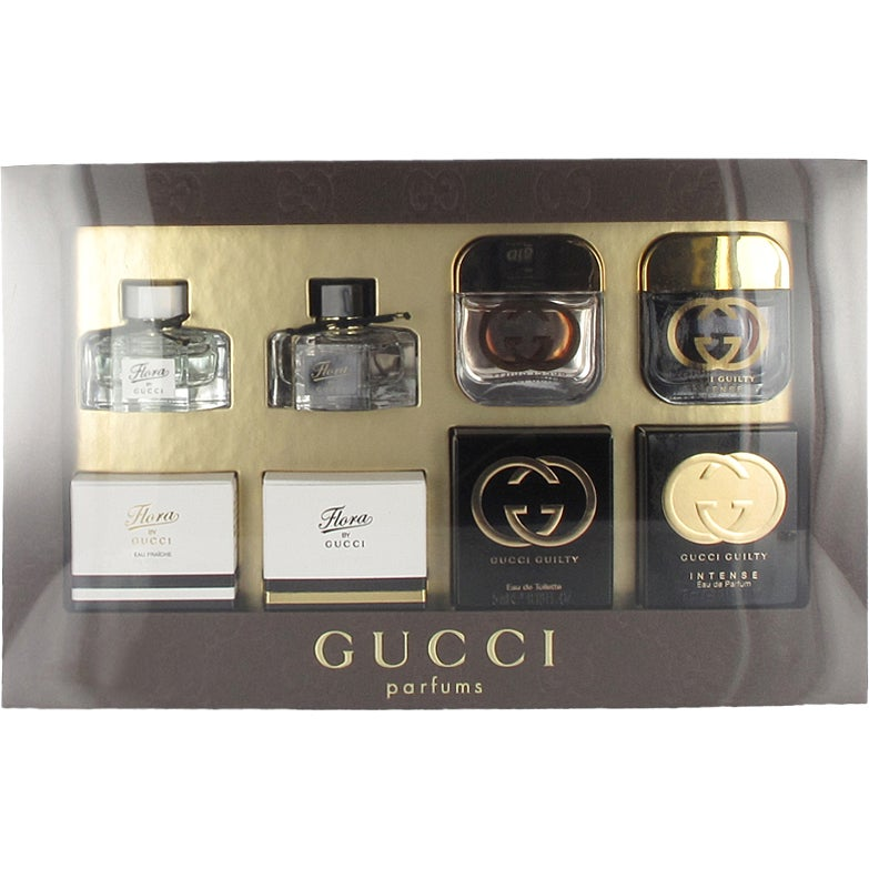 Gucci Mini Set EdT 4x5ml 2eab376833