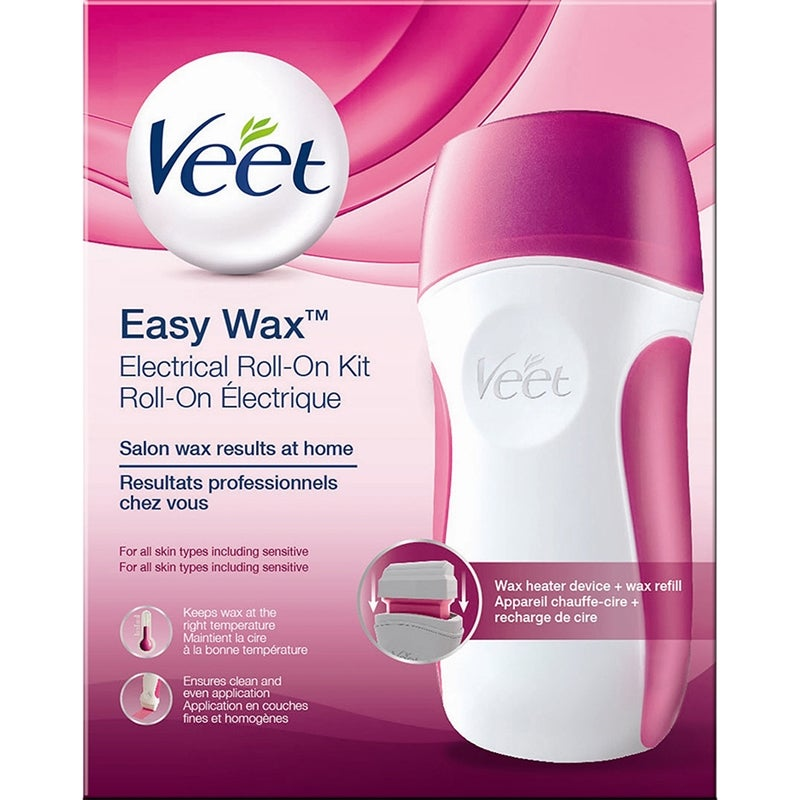 Veet Easy Wax Electrical Roll-On Kit