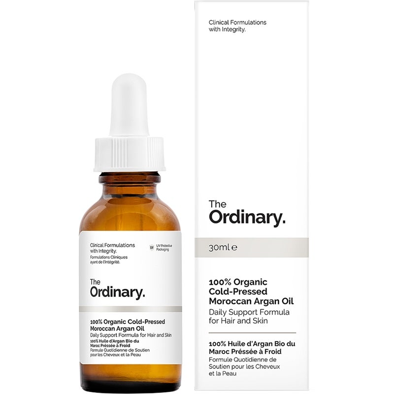 The Ordinary. 100% Organic Cold-Pressed Moroccan Argan Oil