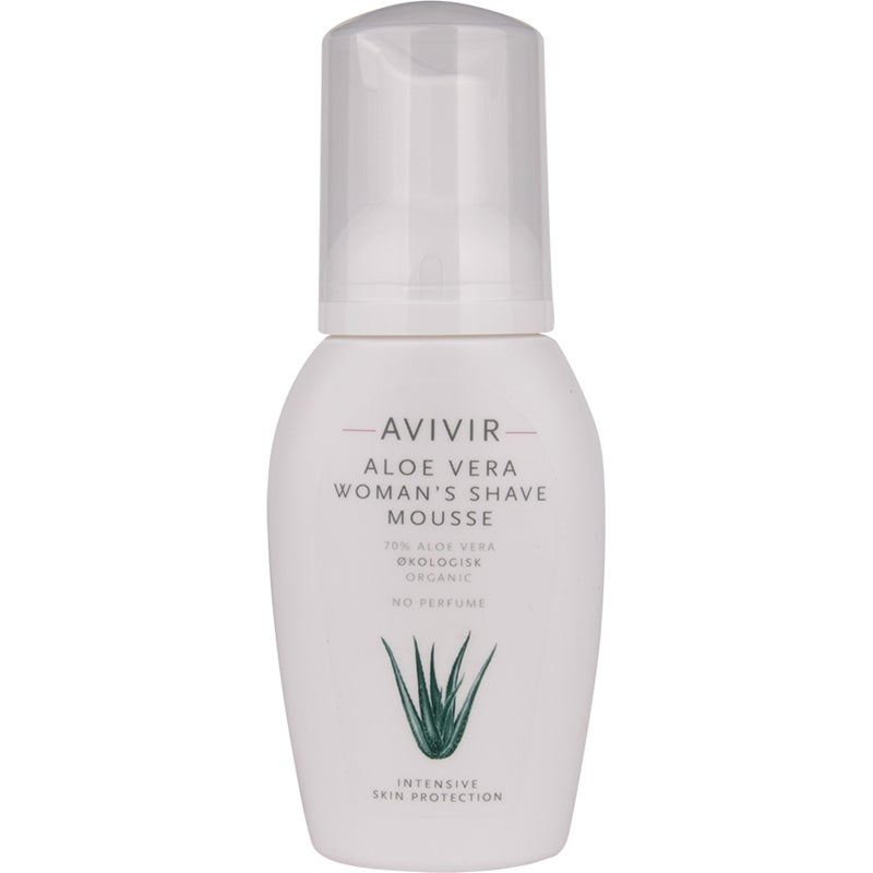 Aloe Vera Womans Shave Mousse