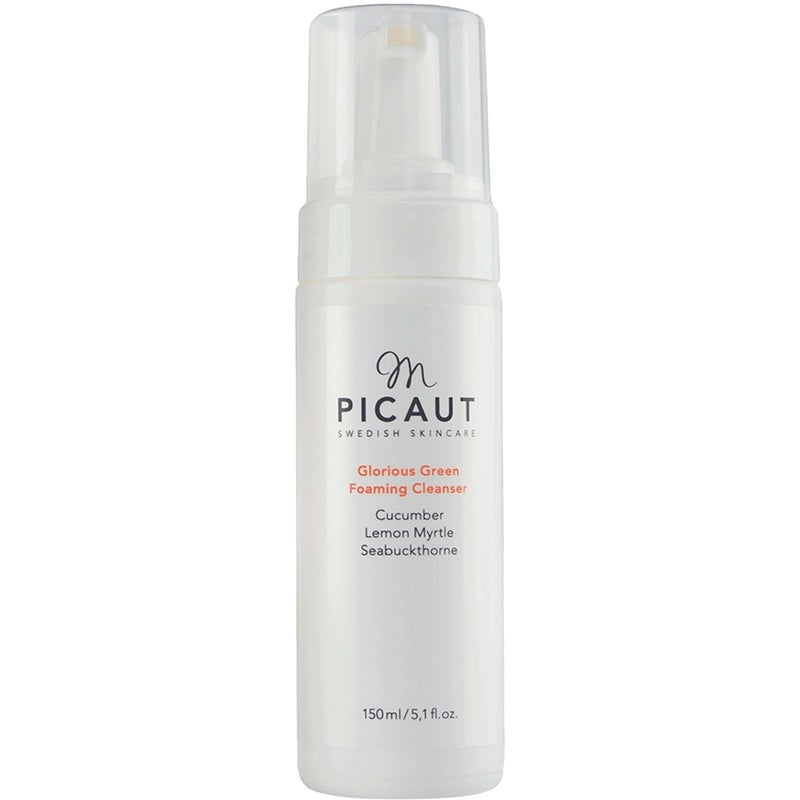M Picaut Swedish Skincare Glorious Green Foaming Cleanser